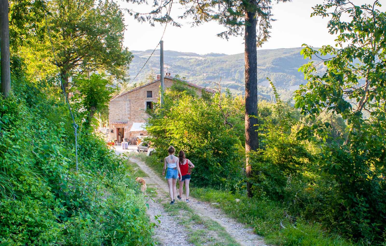 explore hills Eastern Tuscany