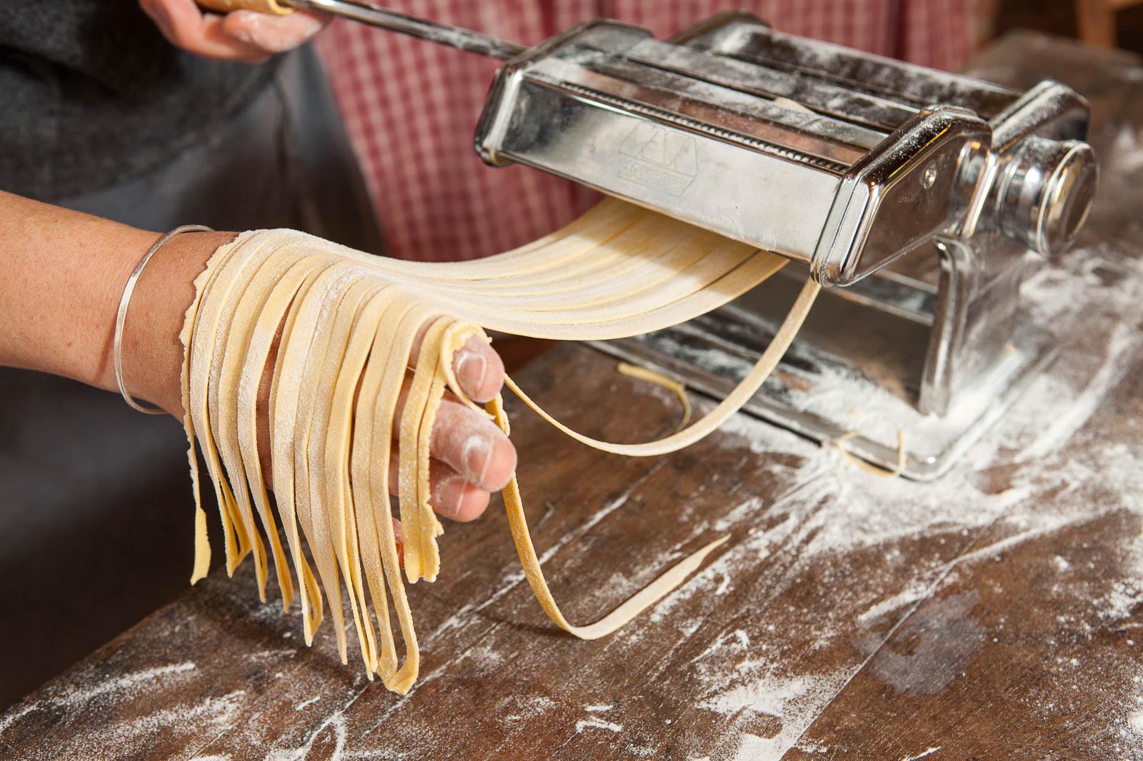 making holidays pasta